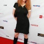 Red carpet photoshoot with Tawny Kitaen